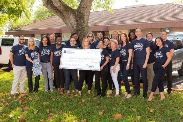 Florida Professional Law Group Hurricane Michael Donation