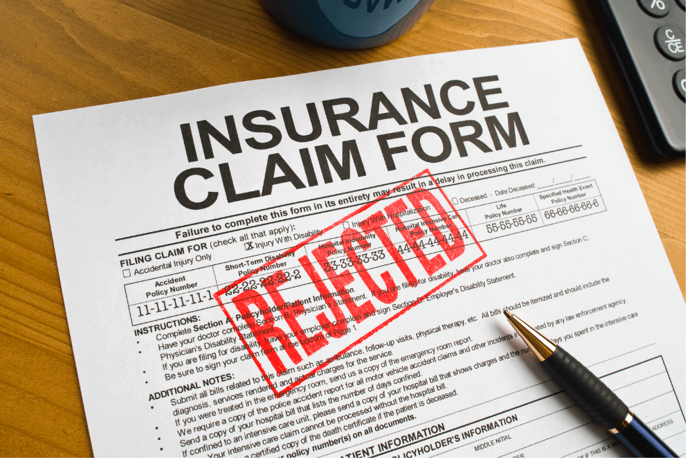 insurance company denies claim